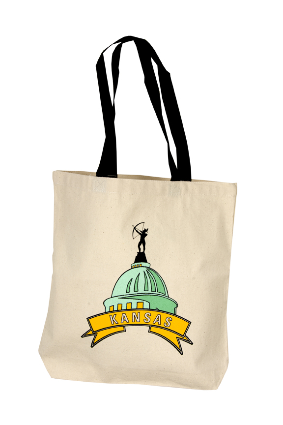 Canvas Tote Bag - Capitol Dome