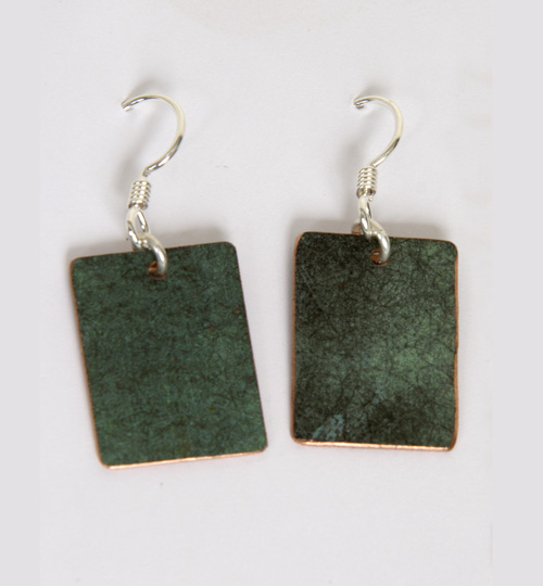 Plain Rectangle Earrings