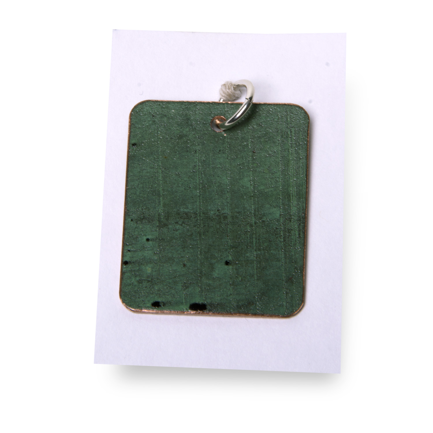 Plain Rectangle Pendant