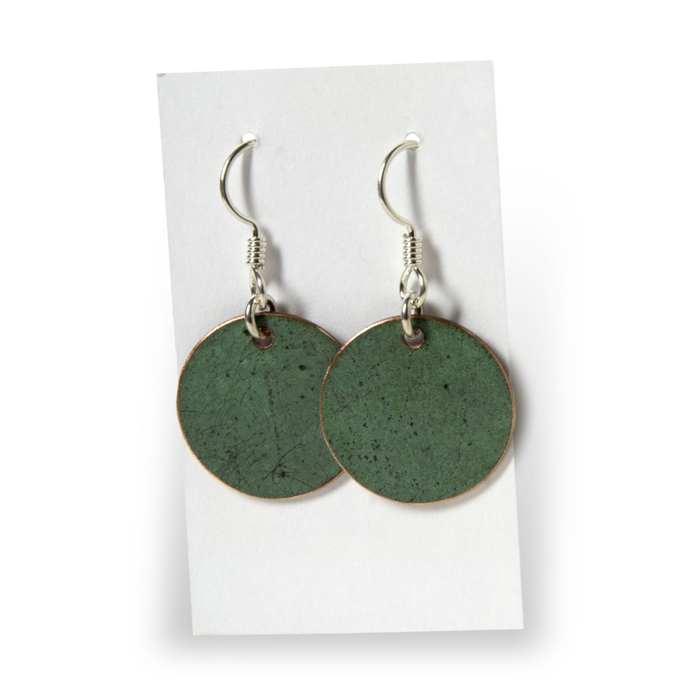 Plain Circle Earrings