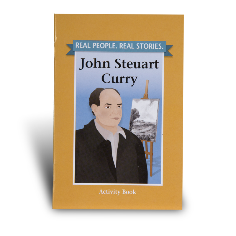 John Steuart Curry Activity Book