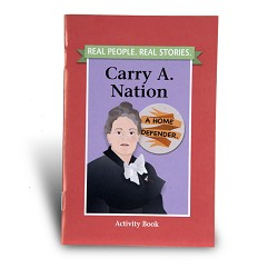 Carry Nation Activity Book