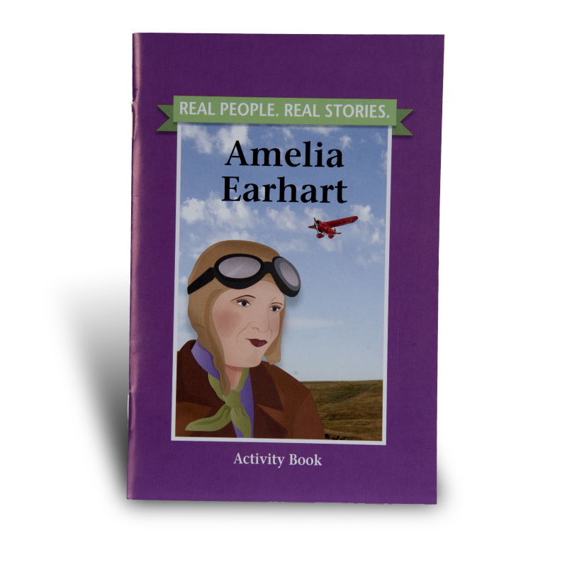 Amelia Earhart Activity Book