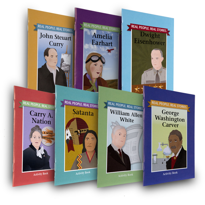 Real People. Real Stories. Activity Book Box Set