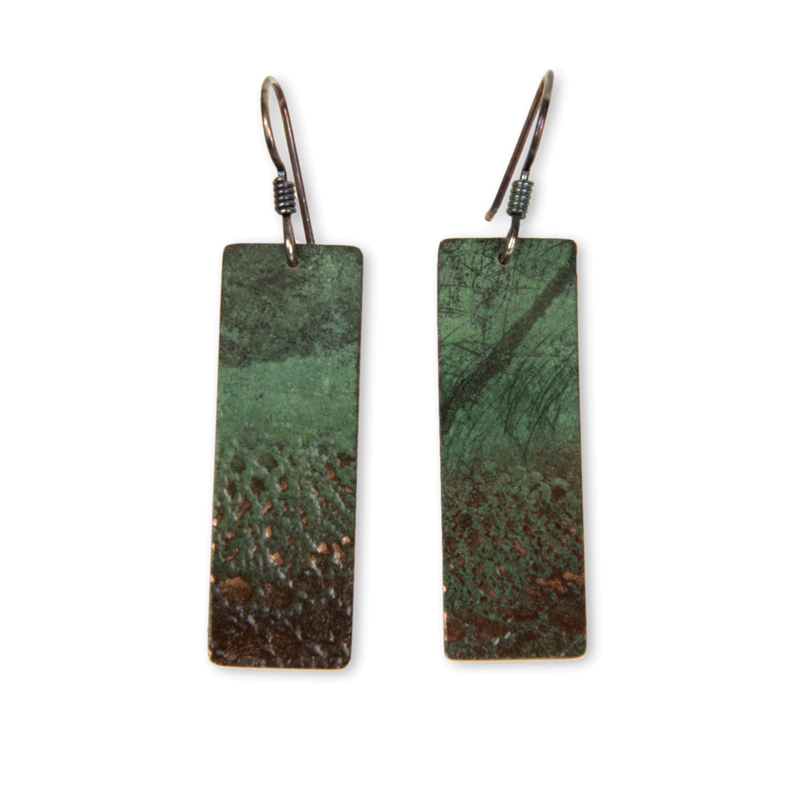 Lace Print Earrings