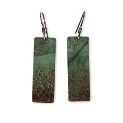 Lace Print Earrings