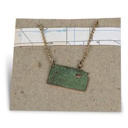 KS Heart Necklace Double Loop