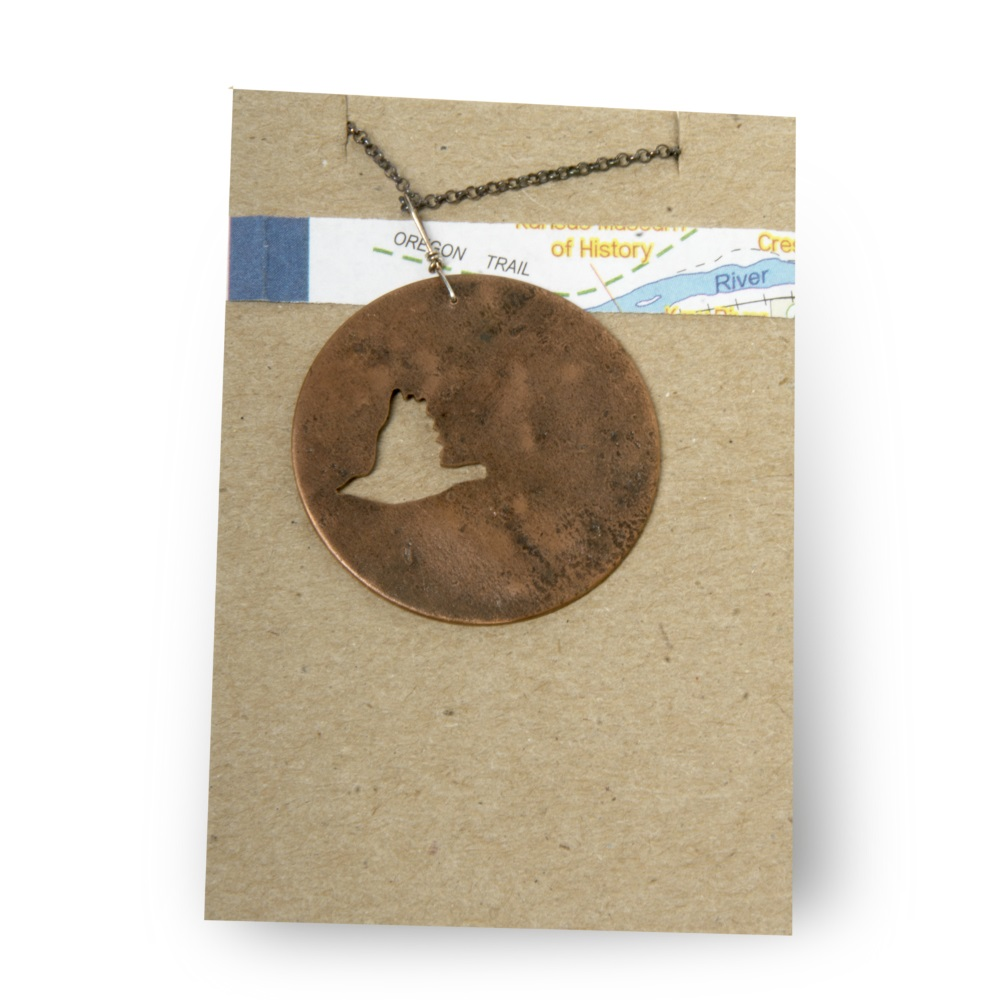 Meadowlark Cutout Necklace