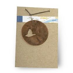 Meadowlark Cutout Necklace
