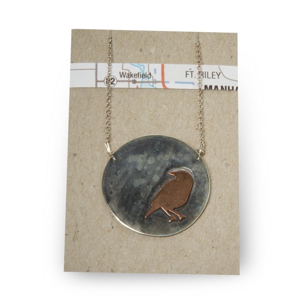 Meadowlark on Silver