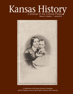 Kansas History - Vol. 37, No. 1,SPRING 2014
