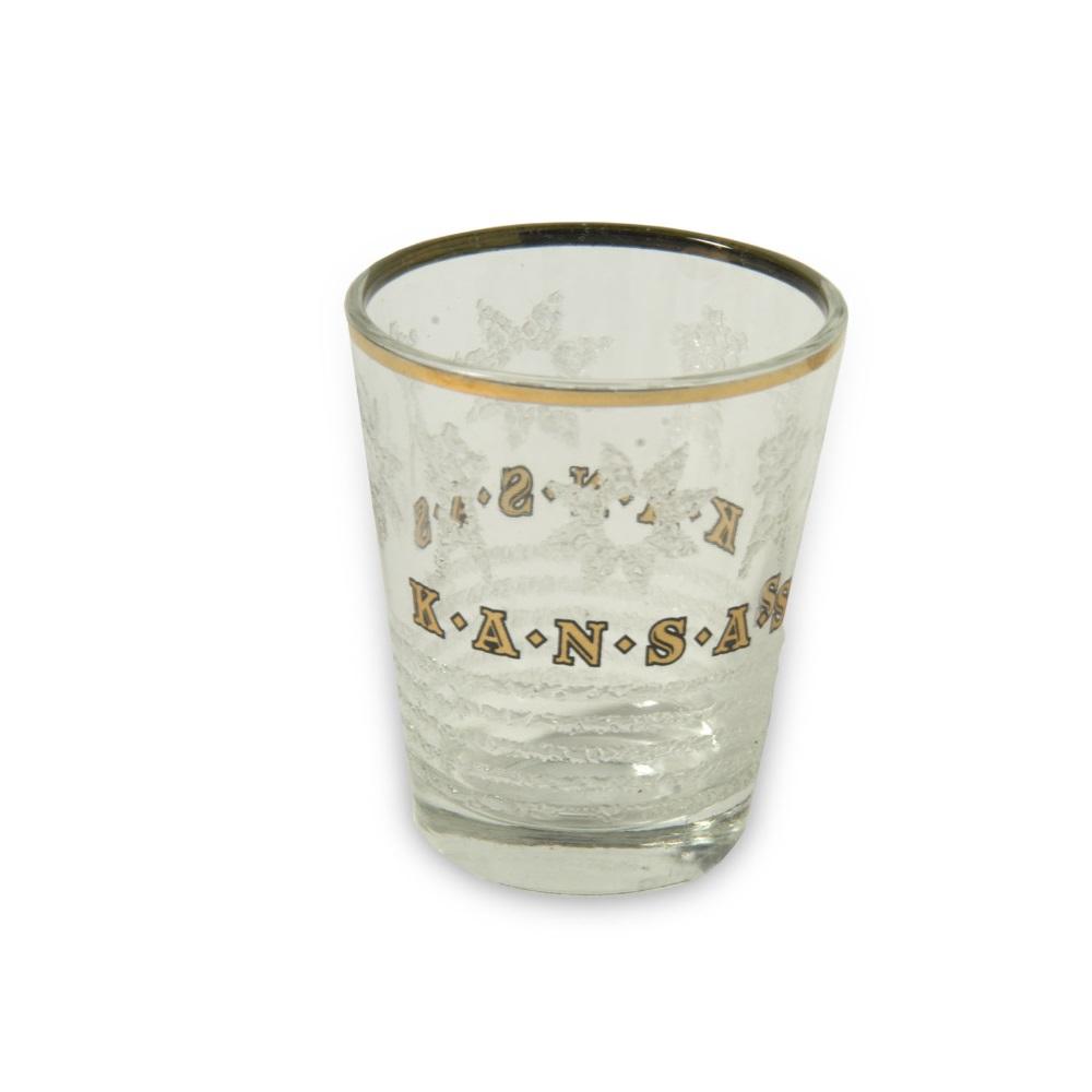 Gold&Ice Shot Glass,X1110KS