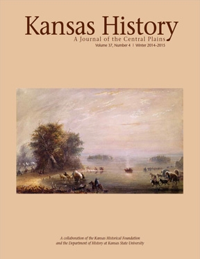 Kansas History - Vol. 37, No. 4,WINTER 2014-15