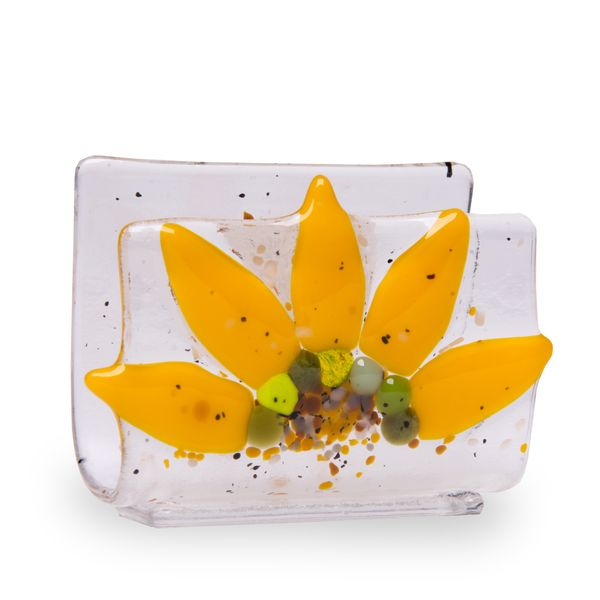 Sunflower Business Card Holder