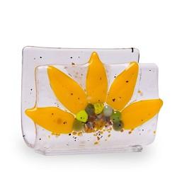 Sunflower Business Card Holder
