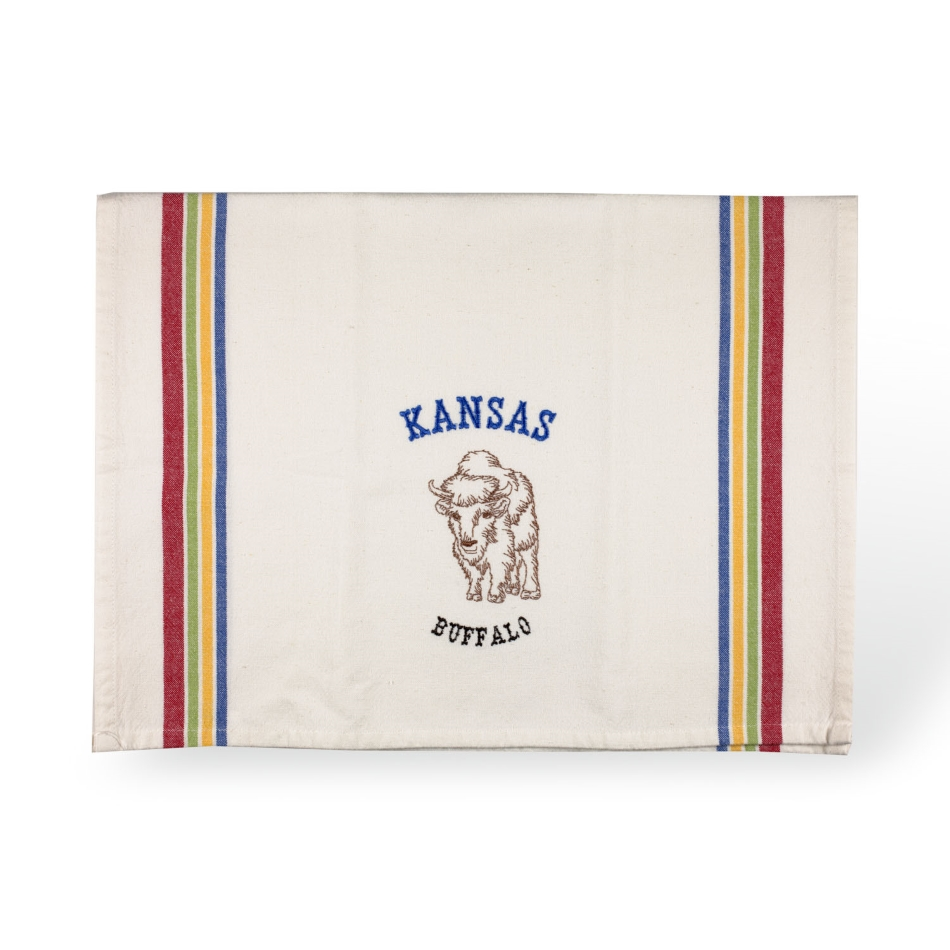 KS Buffalo- Tea Towel