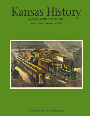 Kansas History - Vol. 32, No. 4,WINTER 2009-10