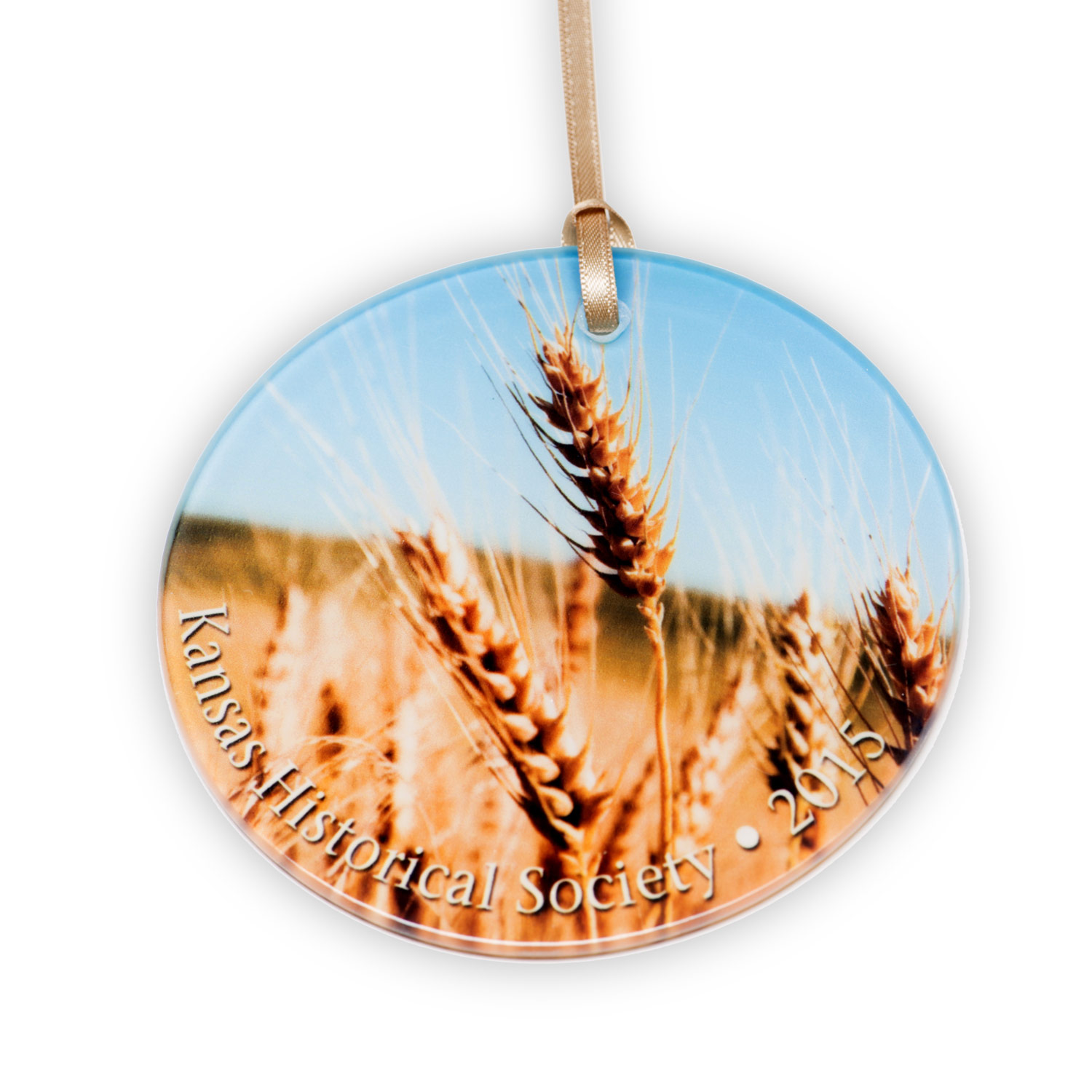 Kansas Wheat - 2015 Ornament