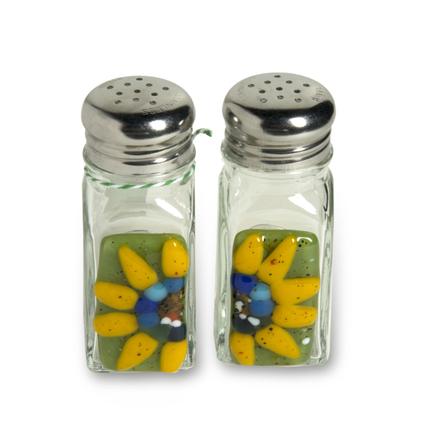 Sunflower Salt & Pepper Shakers
