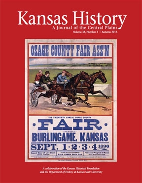 Kansas History - Vol. 38, No. 3,AUTUMN 2015