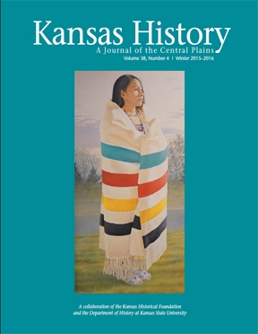 Kansas History - Vol. 38, No. 4,WINTER 2015-16