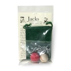 Jacks w/ Cloth Bag