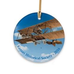 Biplane Ornament 2016
