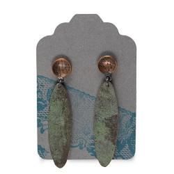 Lace Studs w/ Dangling Eclipse Earrings