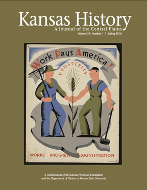 Kansas History - Vol. 39, No. 1,SPRING 2016