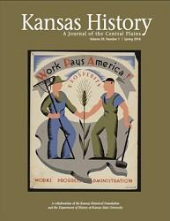 Kansas History - Vol. 39, No. 1