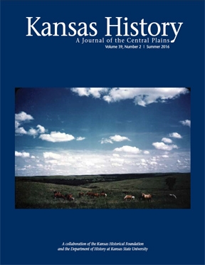 Kansas History - Vol. 39, No. 2,SUMMER 2016
