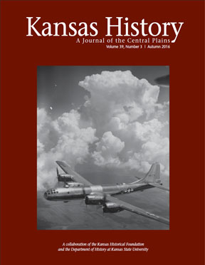 Kansas History - Vol. 39, No. 3,AUTUMN 2016