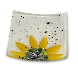 Webstore 4x4 half sunflower dish