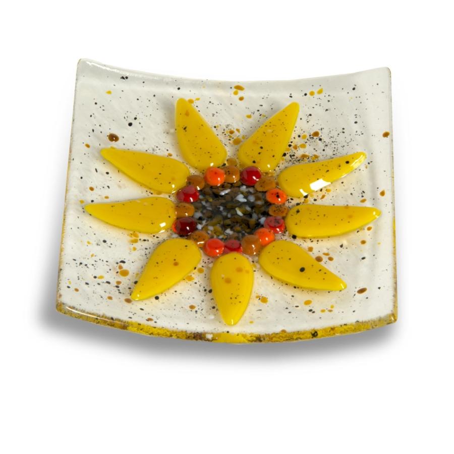 Webstore 4x4  full sunflower dish