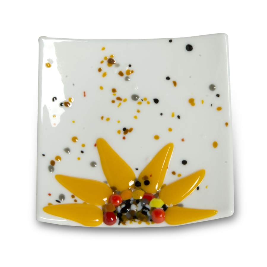 Webstore 4x4 color sunflower dish