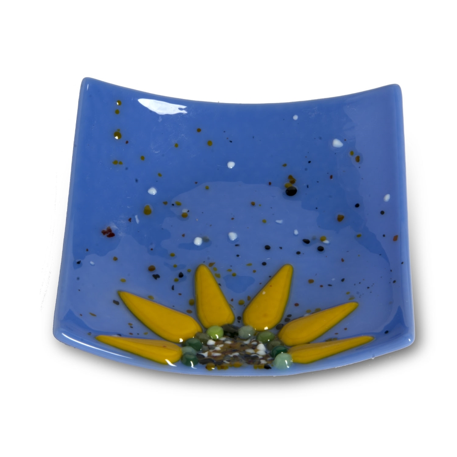 Webstore color 5x5 sunflower dish