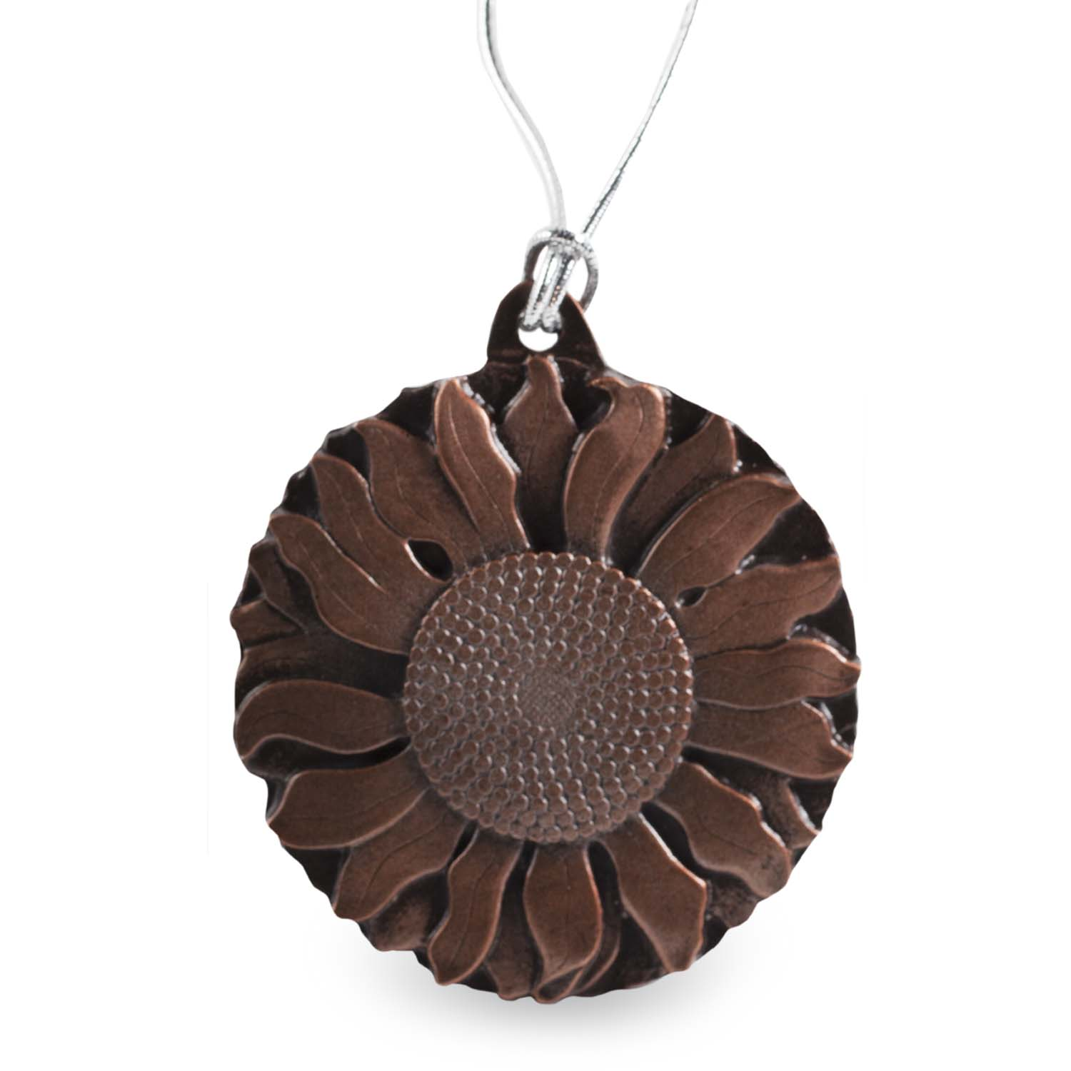 Antique Copper Sunflower Ornament (2017)