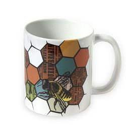 1890 Bees Mug