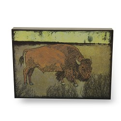 Grunge Bison (Small, Natural Sides)