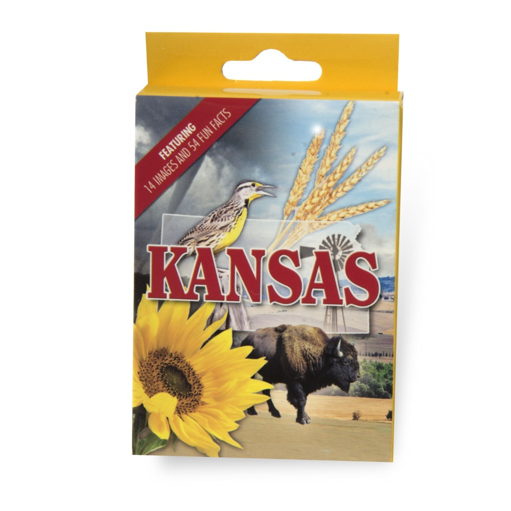 Kansas Playing Cards - Casino Quality,2146KS