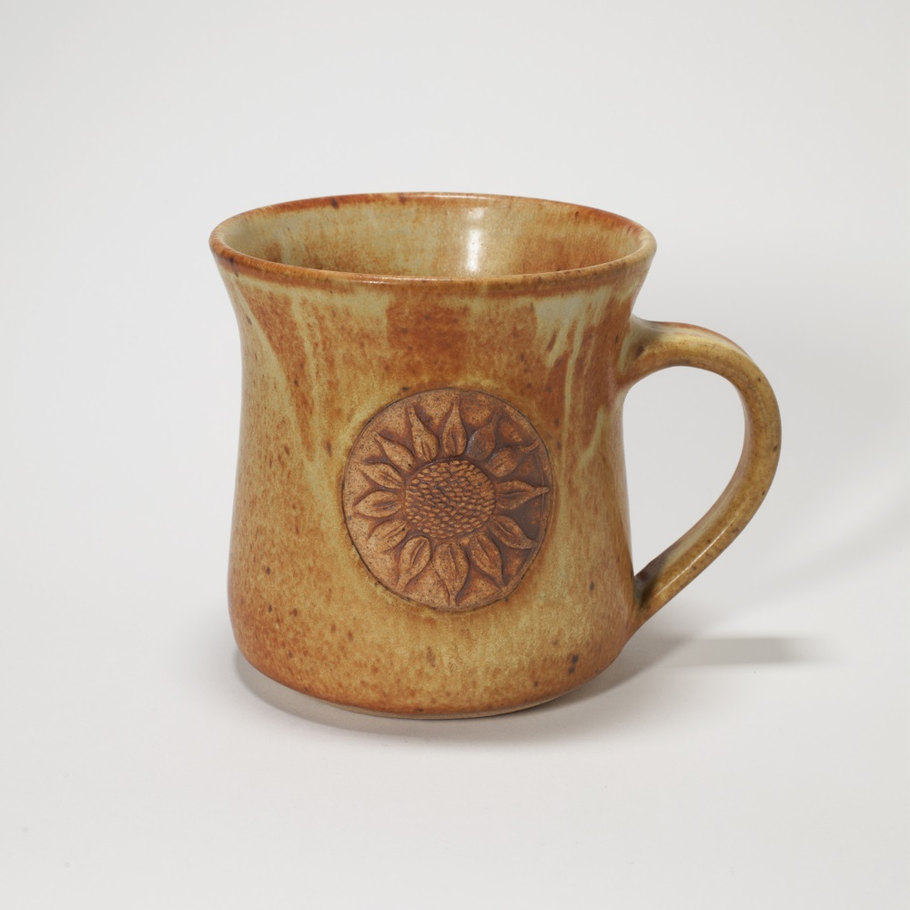 Kansas Long Petal Sunflower Mug