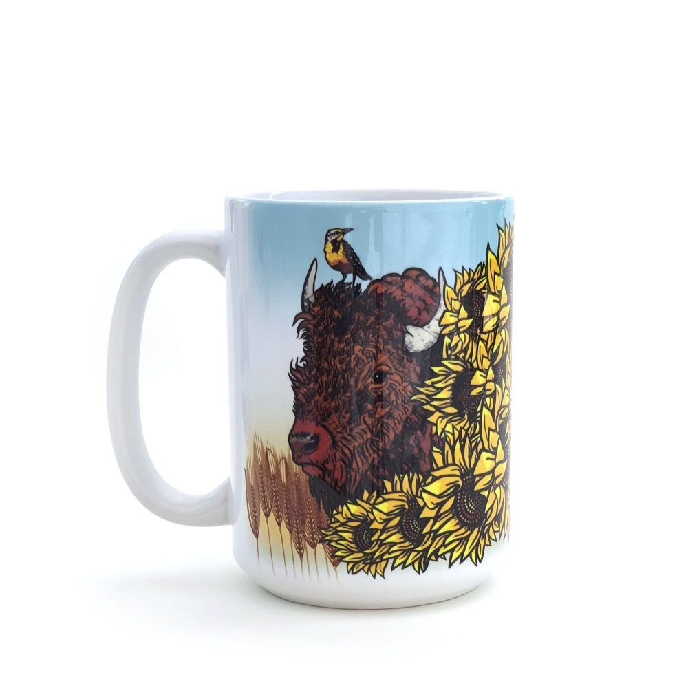 Kansas Bison Mug