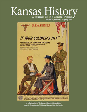 Kansas History - Vol. 40, No. 1,SPRING 2017