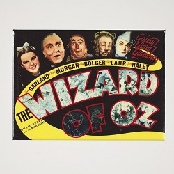 New Oz Film Poster Magnet