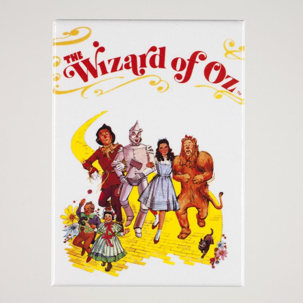 Yellow Brick Road Illustration Magnet,BOY20511OZ