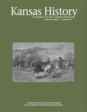 Kansas History - Vol. 40, No. 2,SUMMER 2017