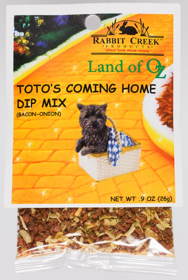 Dip Mix - Toto's Coming Home (Bacon - Onion),12009