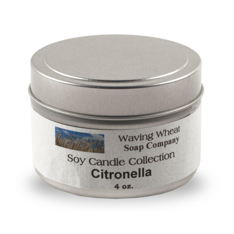 Citronella Soy Candle,CIT4