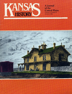Kansas History - Vol. 09, No. 3,AUTUMN 1986