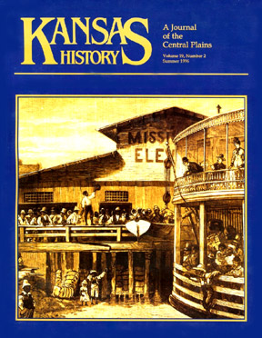 Kansas History - Vol. 19, No. 2,SUMMER 1996